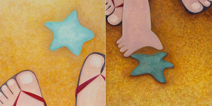 Deniz Yıldızı Fırlatan Kız Hikayesi