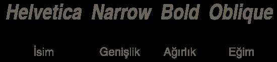 Tipografi'de Font Adlandırma