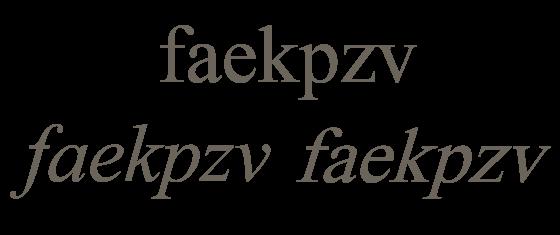 Tipografi'de Dik İtalik Oblik Farki