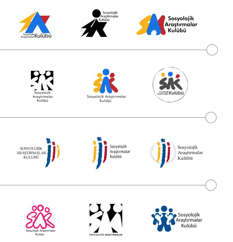 Logo Tasarım: Taslakları