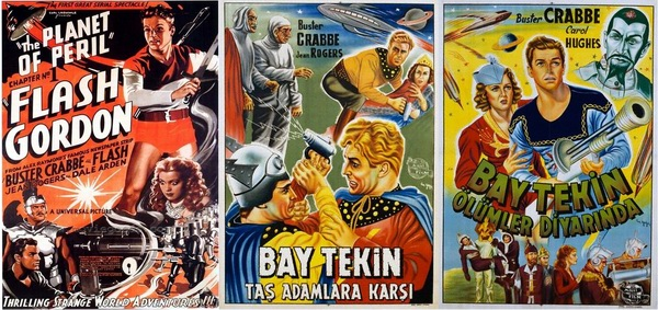 Flash Gordon ve Baytekin Bilimkurgu Filmleri