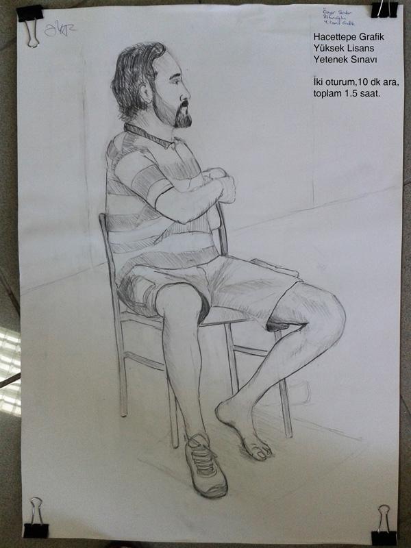 Grafik Desen Sınavı 50x70