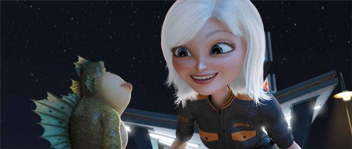 Animasyon Tarihi 2009: Susan ve Link Monsters vs. Aliens