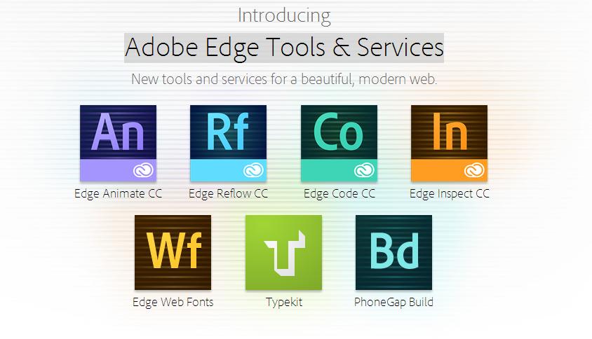 Adobe Edge Ailesi