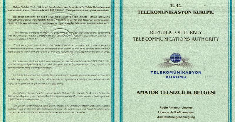 Amatör Telsizcilik TA2RS