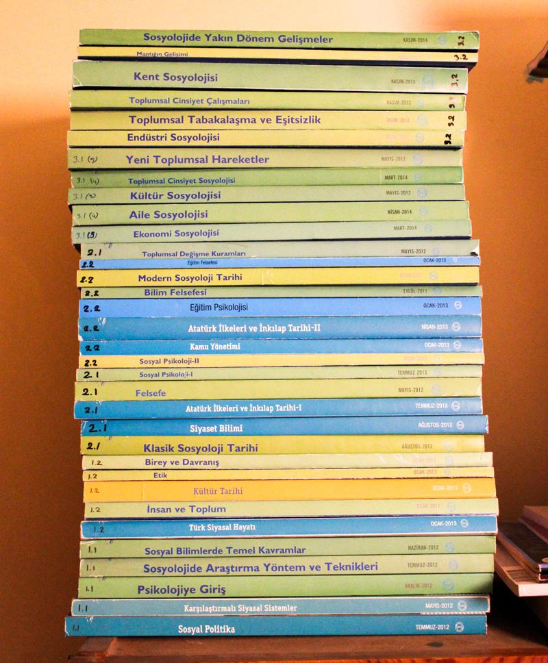 aöf sosyoloji kitapları