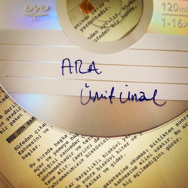 Ara (2008) Ümit Ünal DVD