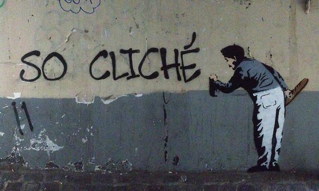 Banksy Klişe