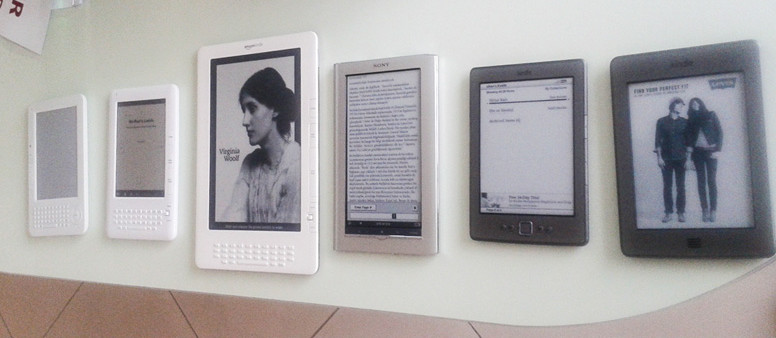 Dijital Kitap Bilgisi: E-kitap Okuyucuları