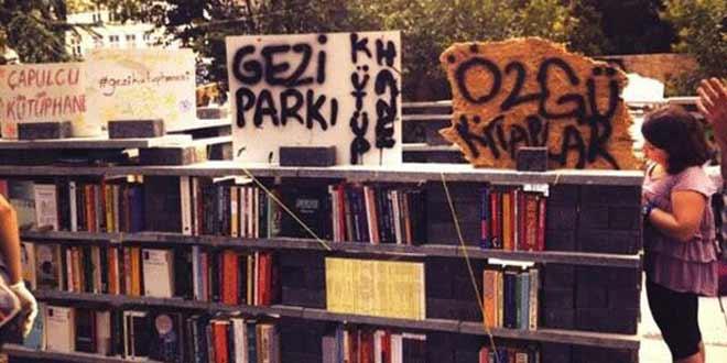 Gezi Parkı Kütüphanesi