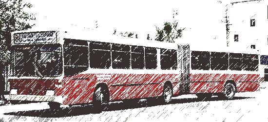 Körüklü Karamelli Otobüs