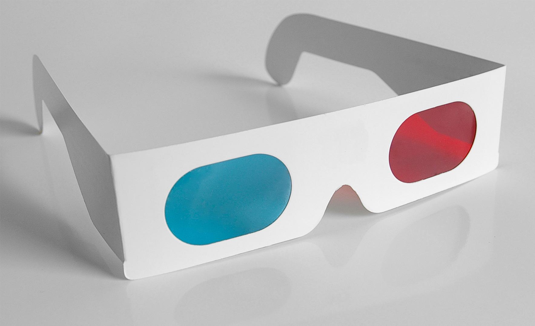 Renkli 3D gözlük