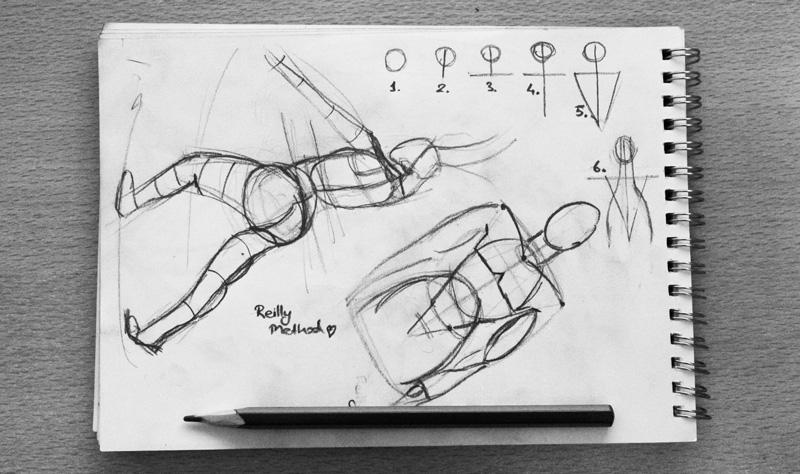 Frank Reilly Metodu: Bir Anatomi Çizim Tekniği