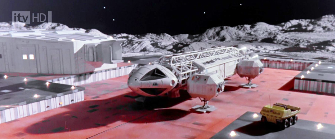 Space 1999 Hawk Shuttle