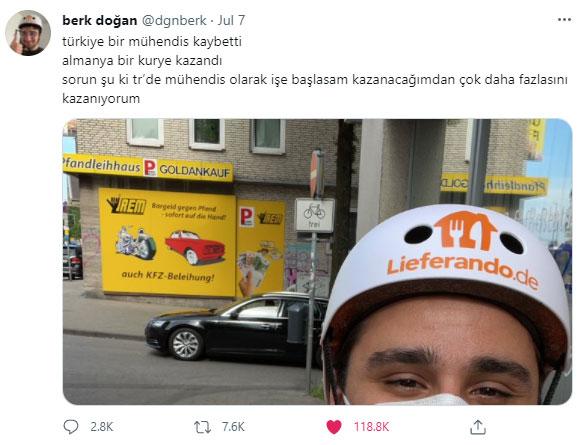 Türk Mühendis Alman Kuryeci
